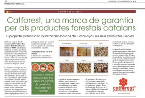 Article CATFOREST en el Diari ARA
